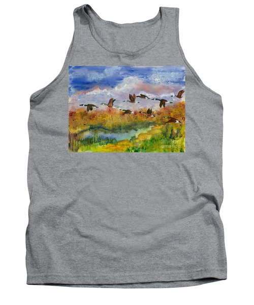Flying South Tank Top