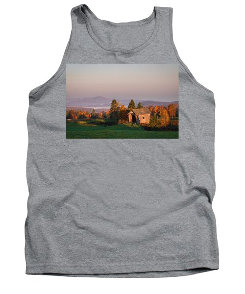 Fog In The Valley Tank Top