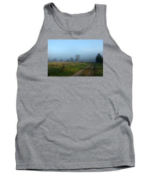 Foggy Field Tank Top
