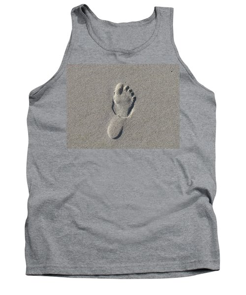 Footprint In The Sand Tank Top