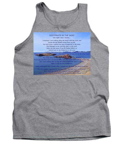 Footprints In The Sand 2 Tank Top