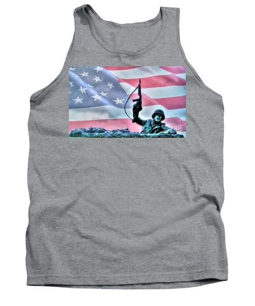 For Freedom Tank Top by Dan Stone