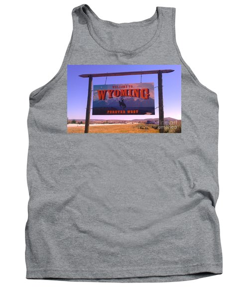 Forever West Tank Top by Chris Tarpening