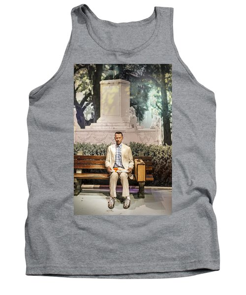 Forrest Gump Tank Top by Mountain Dreams