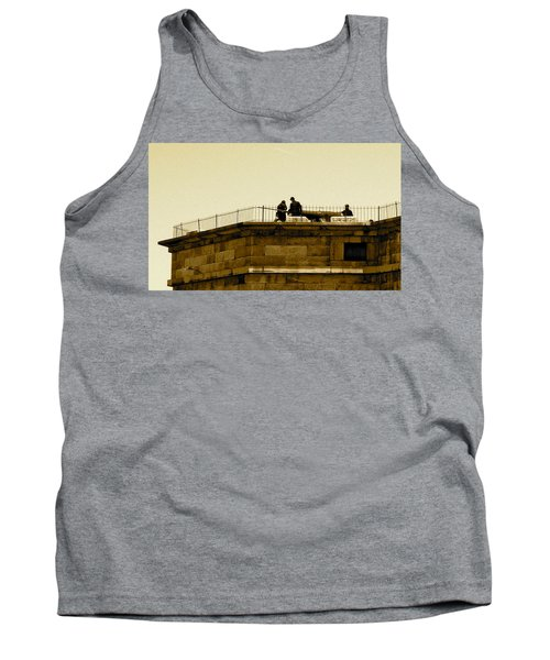 Fort Delaware Cleaning Crew Tank Top