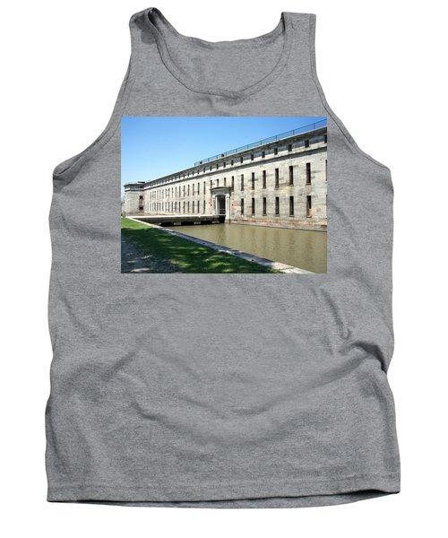 Fort Delaware Sally Port Entrance Tank Top