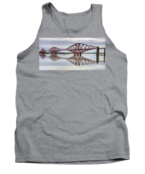 Forth Bridge Reflections Tank Top