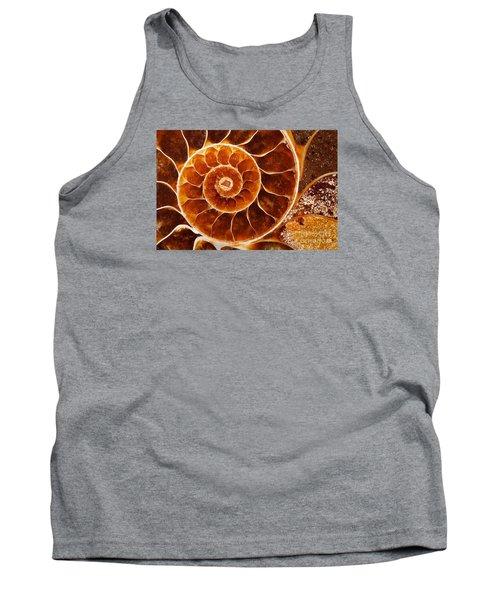 Fossil Nautilus Tank Top