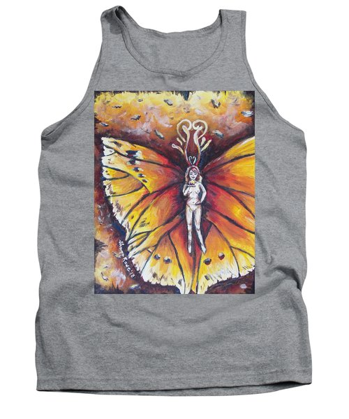 Free As The Flame Tank Top