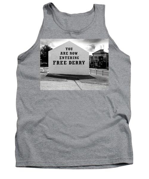 Free Derry Corner 9 Tank Top