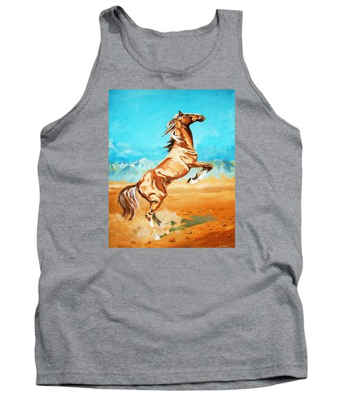 Tank Top featuring the painting Free Spirit by Al Brown