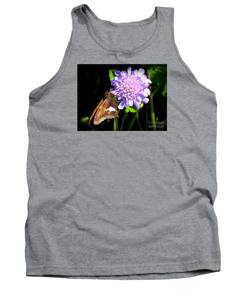 Silver Spotted Skipper Tank Top by Patti Whitten