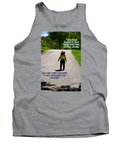 Momentary Freedom Tank Top by Patti Whitten