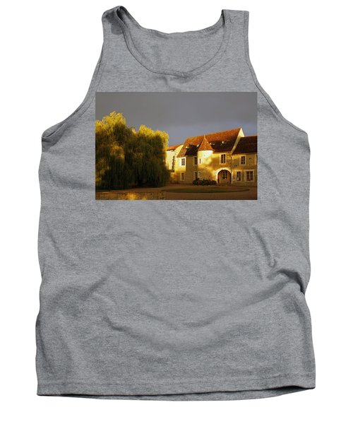 French House At Sunset Tank Top