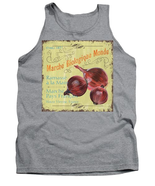 French Market Sign 4 Tank Top by Debbie DeWitt