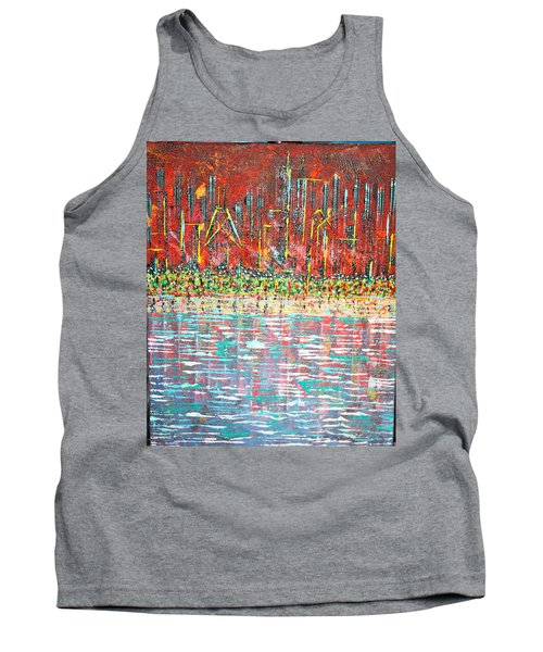 Friday At The Beach - Sold Tank Top by George Riney