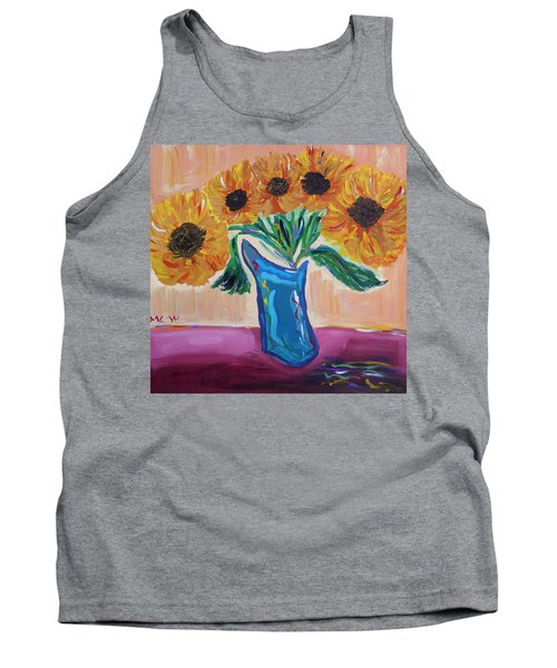 From A Fair And Sunny Field Tank Top