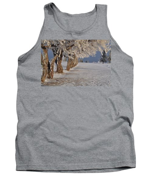 Frosted Trees Tank Top