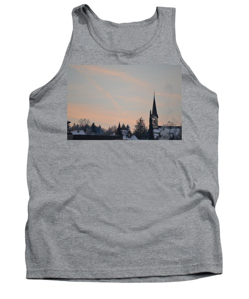 Tank Top featuring the photograph Frozen Sky 2 by Felicia Tica