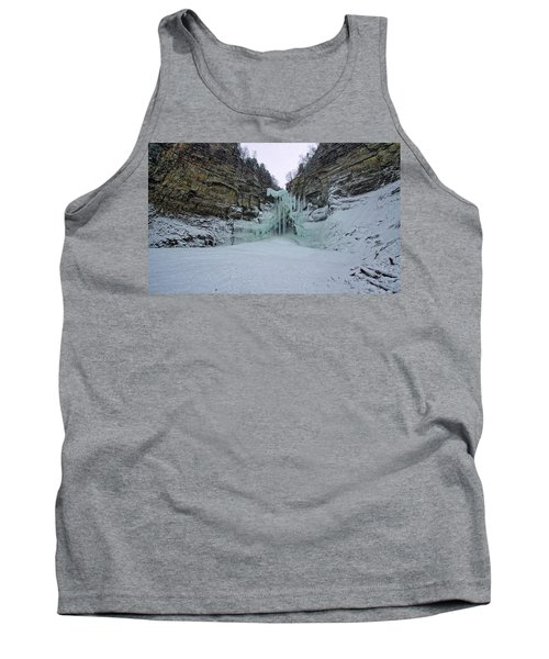 Frozen Waterfalls Tank Top
