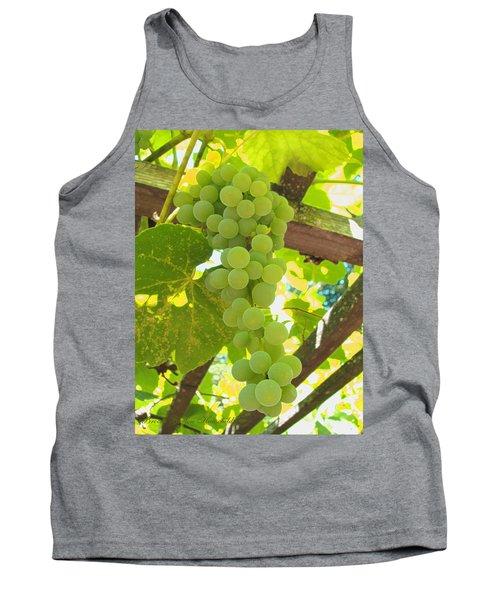 Tank Top featuring the photograph Fruit Of The Vine - Garden Art For The Kitchen by Brooks Garten Hauschild