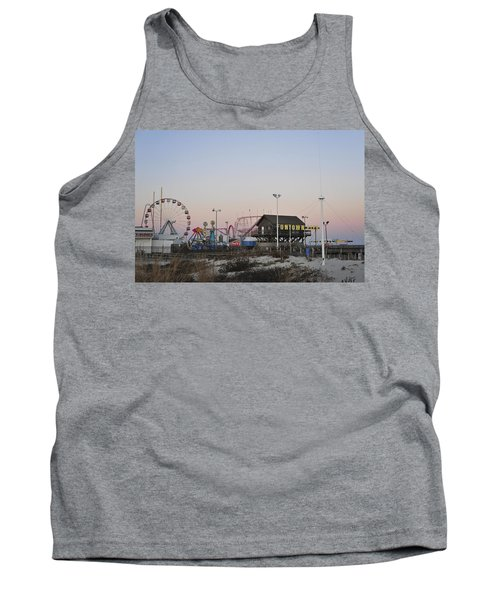 Fun At The Shore Seaside Park New Jersey Tank Top