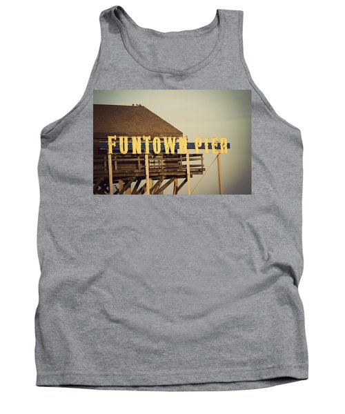 Funtown Vintage Tank Top by Terry DeLuco