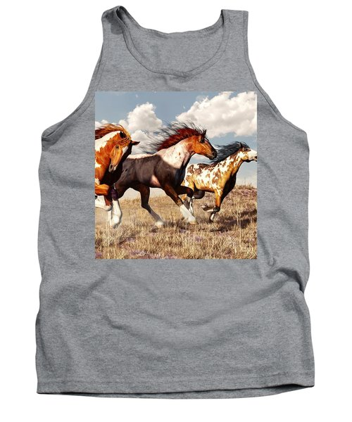 Galloping Mustangs Tank Top