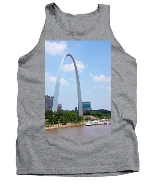 Gateway To The West Tank Top by Kristin Elmquist