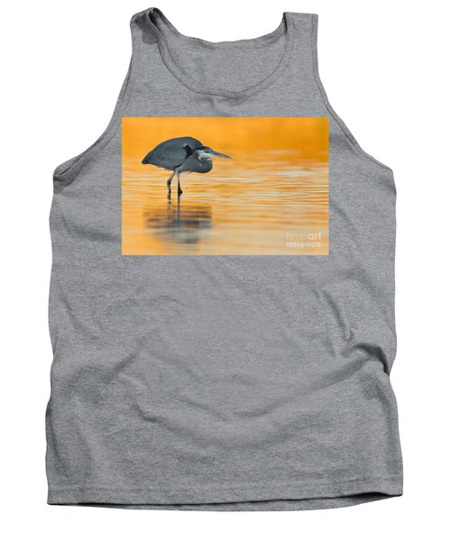 Tank Top featuring the photograph Gbh In Orange Water by Bryan Keil