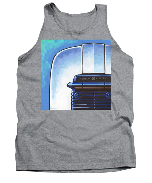 General Electric Toaster - Blue Tank Top