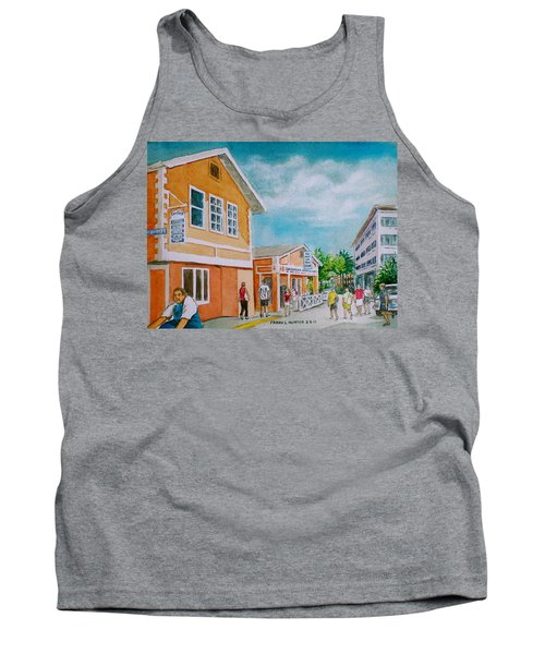 Georgetown Grand Cayman Tank Top by Frank Hunter