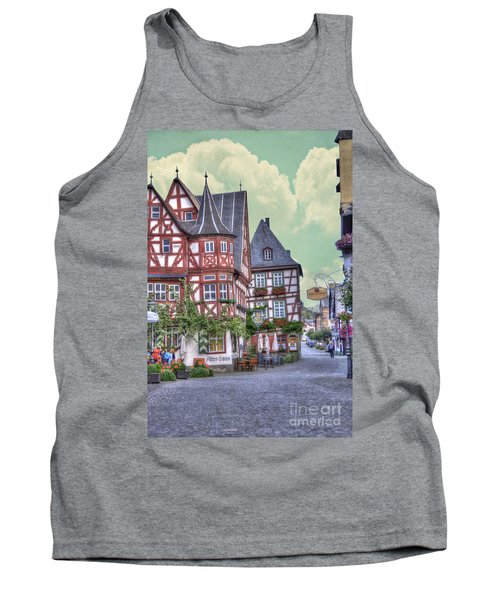 German Village Along Rhine River Tank Top
