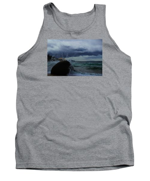 Tank Top featuring the photograph Get Splashed by Sean Sarsfield