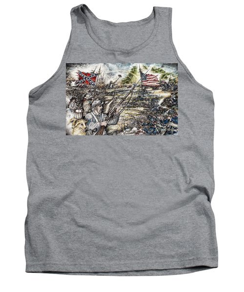 Gettysburg Ash's At The Angle Tank Top by Scott and Dixie Wiley