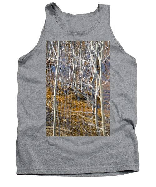 Tank Top featuring the photograph Ghost Willows by Brian Boyle