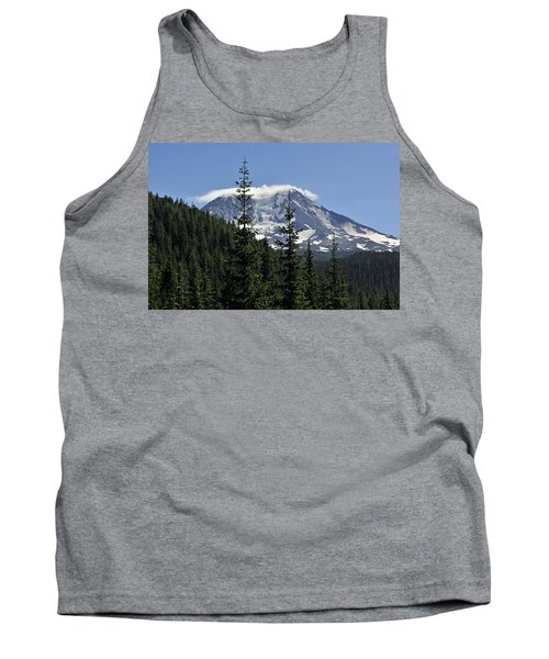 Gifford Pinchot National Forest And Mt. Adams Tank Top by Tikvah's Hope