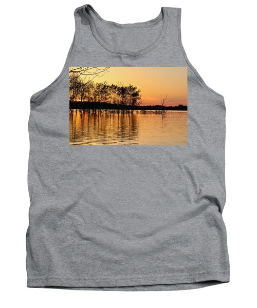 Gilded Sunset Tank Top