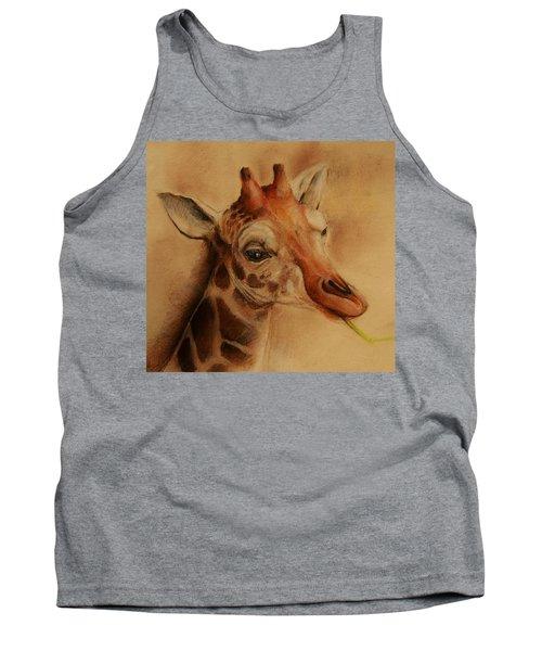 Giraffe Tank Top by Jean Cormier