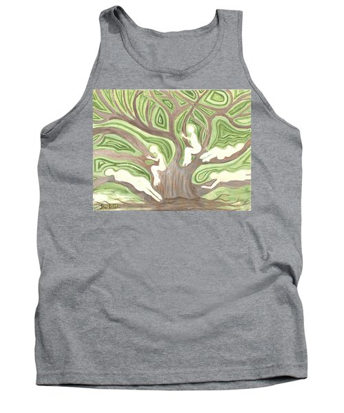 Girls In A Tree Tank Top