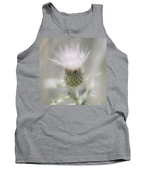 Glimmering Thistle Tank Top
