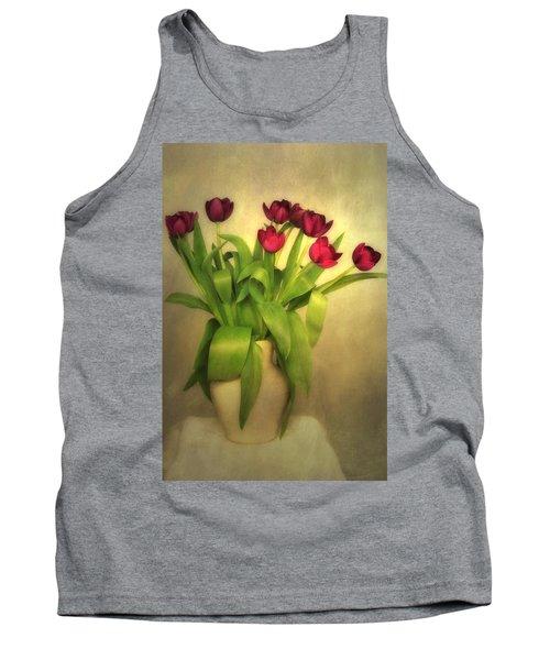 Glowing Tulips Tank Top