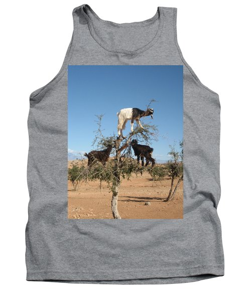 Goats In A Tree Tank Top