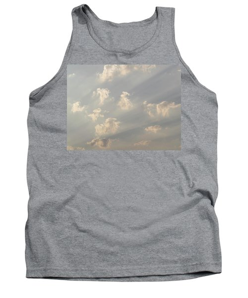 God Rays And Clouds, Okavango Delta Tank Top