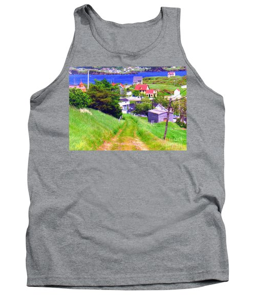 Going Down To Town Tank Top