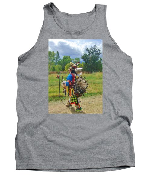 Tank Top featuring the photograph Going To The Pow Wow by Marilyn Diaz