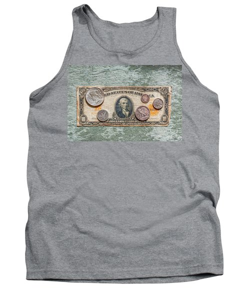 Gold Certificate And Silver Coins Ver 1 Tank Top