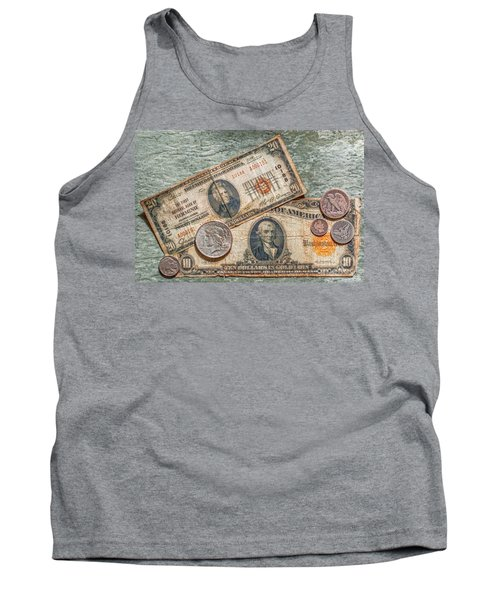 Gold Certificate And Silver Coins Ver 2 Tank Top