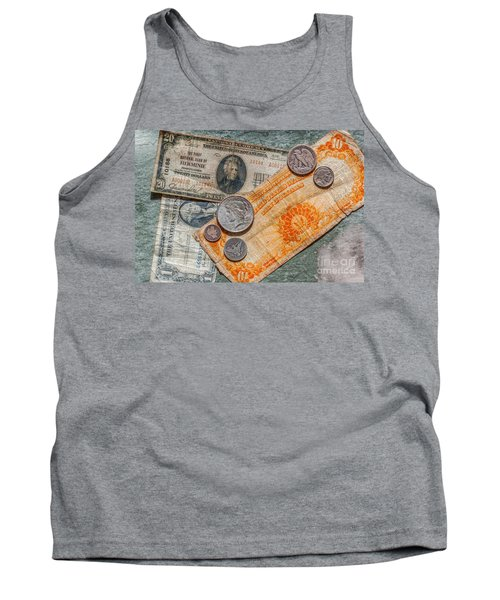 Gold Certificate And Silver Coins Ver 3 Tank Top