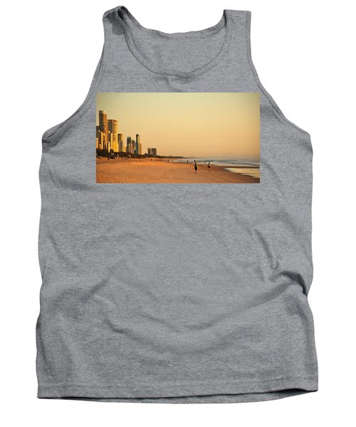 Tank Top featuring the photograph Gold Coast Beach by Eric Tressler